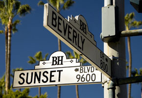 Beverly Hills in Los Angeles